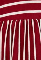 See-Saw - Drop Waist Dress Red