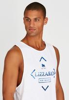 Lizzard - Tremaine Vest White