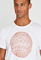 Lizzard - Yuri Short Sleeve T-Shirt White