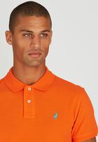 POLO - Classic Pique Golfer Orange