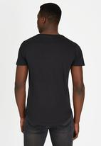 S.P.C.C. - Printed T-Shirt Black