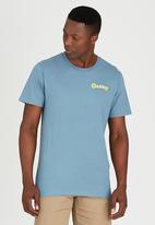 Oakley - MENS BACK GRIP TEE Pale Blue