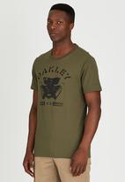 Oakley - MENS GLASSMASK TEE Khaki Green