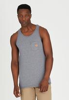 Volcom - Make It Up Vest Navy