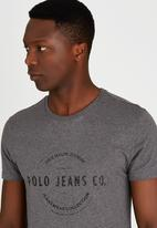 Polo Jeans Co. - Printed T-Shirt Dark Grey