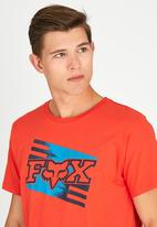 Fox - Smashed Up T-Shirt Red