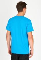 Fox - Conjunction T-Shirt Pale Blue
