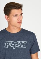 Fox - Legacy Fox Head X  T-Shirt Navy