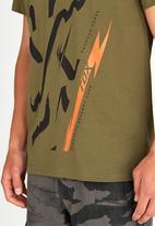 Fox - Harkening T-Shirt Green