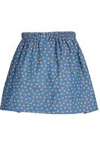 See-Saw - Woven Skirt Dark Blue