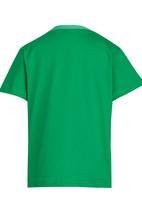 See-Saw - Printed Tee Green