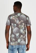 Only & Sons - All Over Print Tshirt Grey