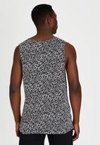 PUMA - Puma Graphic Vest Black and White