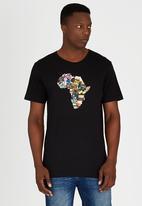 Billabong  - Africa Stickerwave Short Sleeve T-Shirt Black