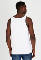 Billabong  - Fader Palms Tank White