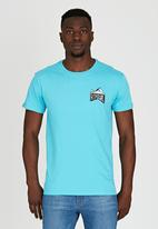 Rip Curl - Throw Back T-Shirt Blue