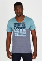 Lee  - Do What You Love T-Shirt Black