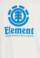 Element - Vertical SS Tee Off White