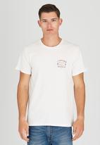 Wrangler - Race Day T-Shirt Off White