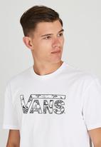 Vans - Vans Classic Logo Fill T-Shirt White