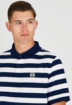 Element - Darwen Short Sleeve Polo Navy