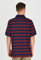 Element - Darwen Short Sleeve Polo Red
