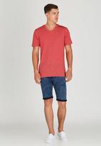 Quiksilver - Moon Barker T-Shirt Red