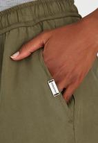 JEEP - Elasticated Pants Khaki Green