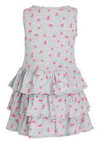 See-Saw - Tiered Dress Multi-colour