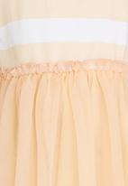POP CANDY - Printed Stripe Dress Neutral