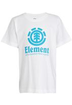 Element - Vertical  SS Tee White