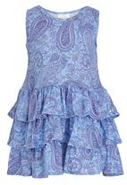 See-Saw - Tiered Dress Blue