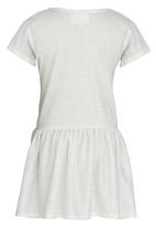 See-Saw - Drop Waist Dress Silver