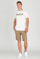 RVCA - Big RVCA Marle T-Shirt White
