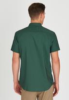RVCA - Thatll Do Oxford Shirt Green
