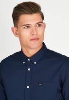 RVCA - Thatll Do Oxford Shirt Blue