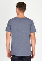 Lee  - Its Written T-Shirt Navy
