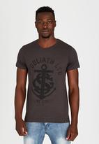St Goliath - Anchor T-Shirt Dark Grey