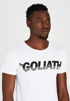 St Goliath - Splitter T-Shirt White