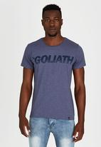 St Goliath - Splitter T-Shirt Navy