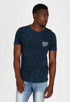 Silent Theory - Powwow T-Shirt Navy