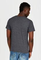 Lee  - Shoulder T-Shirt Dark Grey