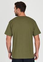 JEEP - Short Sleeve Printed T-Shirt Green