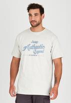 JEEP - Short Sleeve Printed T-Shirt Beige