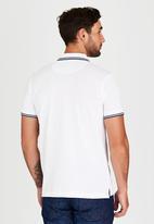 Pringle of Scotland - Kiawah Island Styled Golf Shirt White