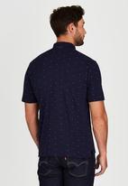 Pringle of Scotland - Royal County Style Golf Shirt Navy