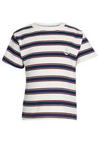 See-Saw - T-shirt with Embroidery Cream