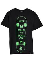 Volcom - Printed T-Shirt Black