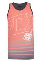 Fox - Printed Vest Red