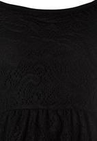 Rebel Republic - Lace Dress Black